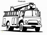 Kids Coloring Pages Fire Truck Pin On Fireman Birthday
