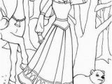 Kids Coloring Pages Girls Printable Disney Princess Coloring Page for Girls