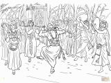 Kids Dance Coloring Pages King David Dancing before the Ark Of the Covenant Coloring