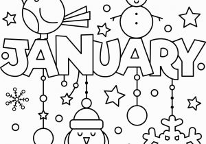 Kids Doing Chores Coloring Pages Happy New Year January Colouring Page Coloring Pages