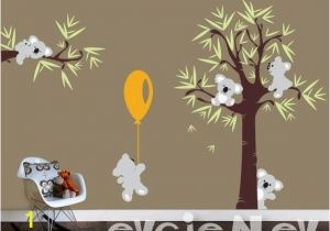 Kids Wall Murals Australia Koala Bear Wall Decals with Baby Koala Wall Decals Australia for