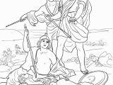 King David and Absalom Coloring Pages Смерть Саула Super Coloring