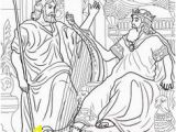 King David and Nathan Coloring Page 444 Best Bible Class United Kingdom Images On Pinterest