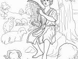 King David and Nathan Coloring Page King David Coloring Pages