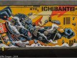King Kong Wall Mural Mecha Kong Position Thursday theday Kingkong