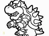 King Koopa Coloring Pages Printable Super Mario 3d Land Bowser Characters Coloring