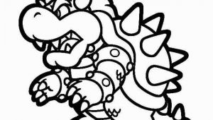 King Koopa Coloring Pages Printable Super Mario 3d Land Bowser Characters Coloring