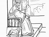 King solomon and the Baby Coloring Pages Wise King solomon