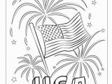 Kirby Buckets Drawings Coloring Pages Happy Fourth Usa Fireworks Coloring Page Free Printable