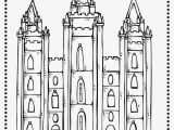 Kirtland Temple Coloring Page Inspirational Lds Temple Coloring Pages Printable