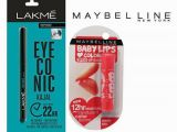 Kissing Lips Coloring Pages Maybelline Baby Lips Color Lip Balm Cherry Kiss & Lakme Eye Conic