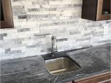 Kitchen Backsplash Mural Stone Stacked Stone is A Great Wet Bar Backsplash