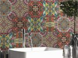 Kitchen Mural Wall Tiles Amazon Decorson Arabic Style Mural Kitchen Bathroom