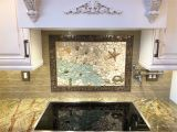Kitchen Mural Wall Tiles Custom Nautical Kitchen Mosaic Backsplash Mural Made with