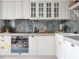 Kitchen Stove Backsplash Murals 13 Removable Kitchen Backsplash Ideas