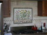 Kitchen Stove Backsplash Murals Simple Wall Hand Painted Tile Backsplash – Amberyin Decors