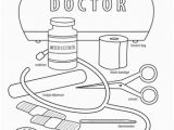 Kitchen tools Coloring Pages Doctor Coloring Page tools