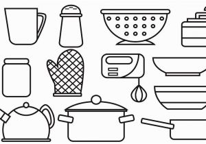 Kitchen tools Coloring Pages tools Coloring Pages Unique tools Coloring Pages Elegant Cool