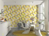 Kitchen Wall Mural Ideas Rasch Hot Spots Yellow Wallpaper