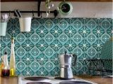 Kitchen Wall Murals Tile Moroccan Tile Sticker Tile Sticker Tile Traditionally
