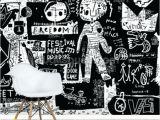 Kitchen Wall Murals Uk Black and White Wall Mural – Disenoycolor