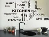 Kitchen Wall Murals Wallpaper Fashion Creative Diy Wall Stickers Kitchen Decal Home Decor
