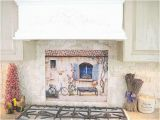 Kitchen Wall Tile Murals French Country Kitchen Backsplash Tile Mural by Lindapaul On