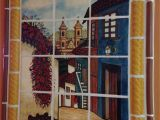Kitchen Wall Tile Murals Mexican Style Mural Callejuela