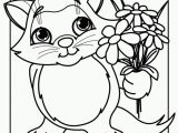 Kitten Coloring Pages to Print for Free Get This Printable Cute Baby Kitten Coloring Pages 5dha6