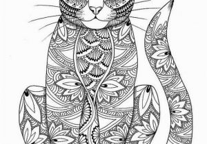 Kitty Cat Coloring Pages for Adults Adult Coloring Pages Cats 3 1 … Kitty Cat Lovers