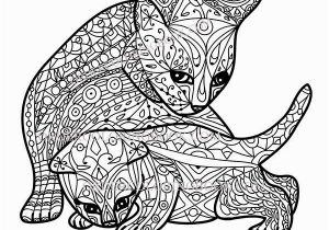 Kitty Cat Coloring Pages for Adults Free Cat Coloring Pages Beautiful Kitten Color Pages Elegant Kitty