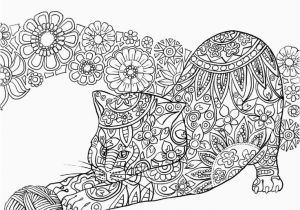 Kitty Cat Coloring Pages for Adults Kitty Cat Coloring Pages Kitty Cats Coloring Pages Lovely Best Od