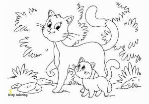 Kitty Cat Coloring Pages for Adults Kitty Coloring Kitten Color Pages Elegant Kitty Cat Coloring Pages