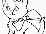 Kitty Cat Coloring Pages Free 24 Kitten to Print