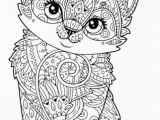 Kitty Cat Coloring Pages Free Kitten to Print Cat Coloring Pages Free Printable Awesome