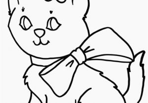 Kitty Cat Coloring Pages Kitten to Print Kitten Color Pages Elegant Kitty Cat