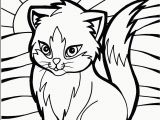 Kitty Cat Coloring Pages Printable Cat Coloring Pages