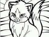Kitty Cat Coloring Pages to Print Cat Color Pages Printable