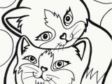 Kitty Cat Coloring Pages to Print Kitten Color Pages Fresh Elegant Cat Coloring Pages Free Printable