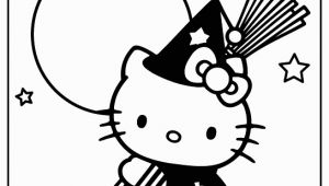 Kitty Printable Coloring Pages Haloween Hello Kitty Color Page Free Kid Stuff