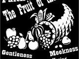 Kjv Fruit Of the Spirit Coloring Pages Fruit Of the Spirit Printables Kjv Clip Art Library