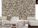 Komar 8 727 Stone Wall Wall Mural Amazon Platin Art Wall Mural Deco Wall Stone Wall 8