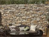 Komar 8 727 Stone Wall Wall Mural Dry Stone Feature Walls Create Continutity