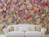 Komar Botanica Wall Mural forwall Fototapete Vlies Tapete Schöne Blumen Rosa Pastellfarben Vliestapete Design Tapete Moderne Wanddeko 3102vexxxl 416 Cm X 254 Cm Wallpaper