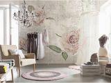 Komar Floral Wall Mural Komar Tantinet Modern Floral Pink Rose Wall Mural Decal Xxl4 049