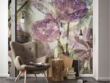 Komar Floral Wall Mural Metropical Faded