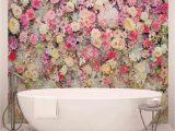 Komar Floral Wall Mural Schöne Blumen Pastellfarben forwall Fototapete Tapete Fotomural Mural Wandbild 3102wm Xl 208cm X 146cm Vlies Easyinstall 2