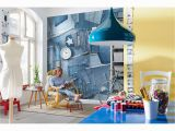 Komar Photo Murals Komar Jeans Wall Mural Products Pinterest