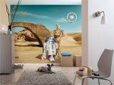 "Komar Wall Mural Installation Fototapete ""star Wars Lost Droids"" Von Komar"