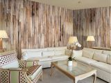 Komar Whitewashed Wood Wall Mural Wood & Interior Decoration the Trend In 2019